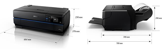 Epson SC-P800 dimensions