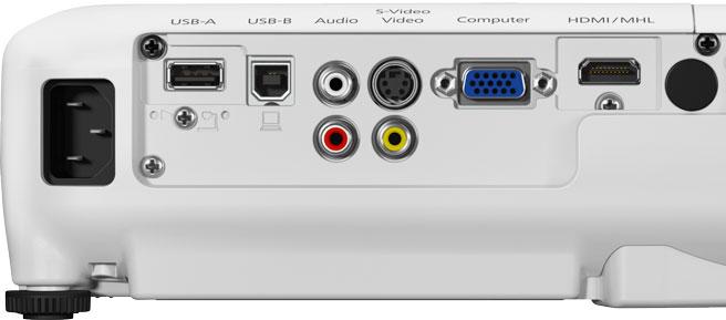 EB-W32 connectivity Panel